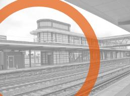 Ashford train station